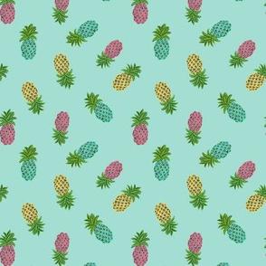 mint pineapples
