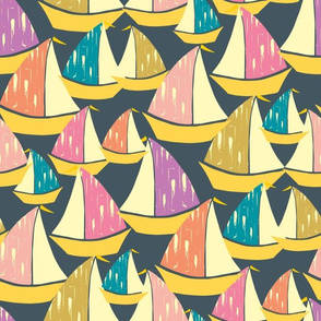 Sail Boats Large