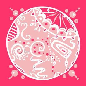 Sweet Dot pillow topper aka creativity dot #7