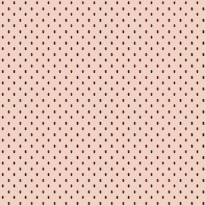 pink background with pink blue dots