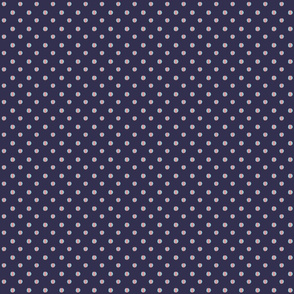 blue background with blue pink dashed dots