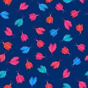 Toledo butterflies navy