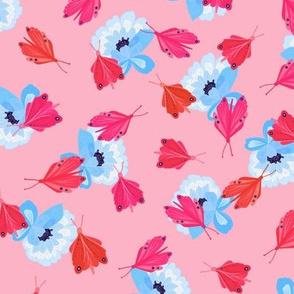 Toledo Muse Butterflies pink
