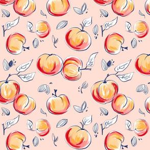 ripe peaches