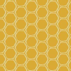 honeycomb - golden - LAD19