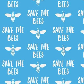 save the bees - blue - LAD19