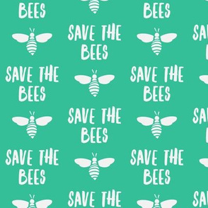 save the bees - spring green - LAD19