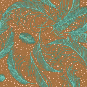 Feathers and Stars