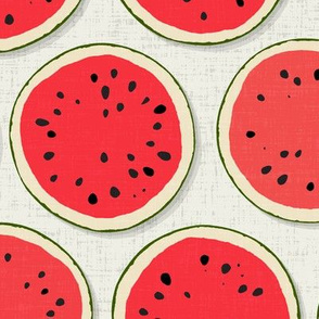 watermelon polka chalk
