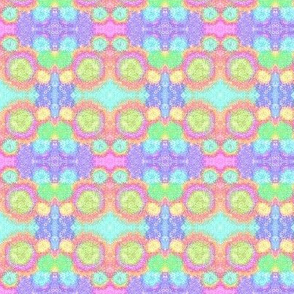 Pastel Rainbow Splashes and Dots