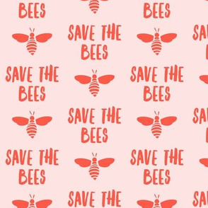 save the bees - pink - LAD19