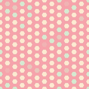 Candy Sweet Abstract inspired by HoneyCombs seamless pattern background.