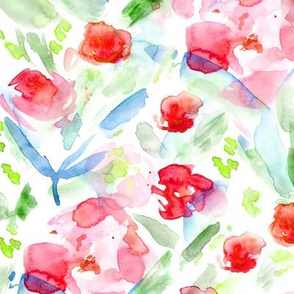 Bloom in june • watercolor floral