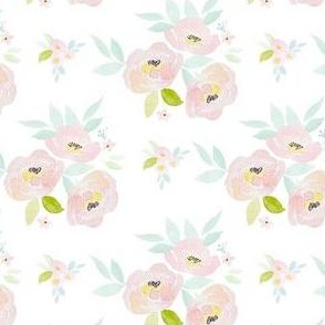 """4"""" Pastel Blush Roses"""