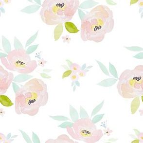"""8"""" Pastel Blush Roses"""
