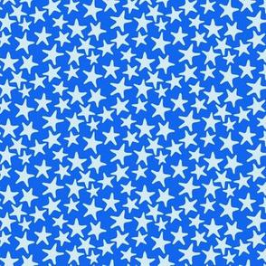 starfish stars blue by Pippa Shaw