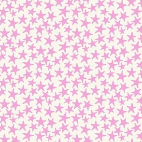 starfish stars pink