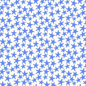 starfish stars sky blue