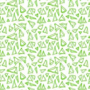 traingle lime