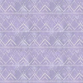 "Celestial Geometric Mountain - Scaled to 1.5"" Rows- Lilac"