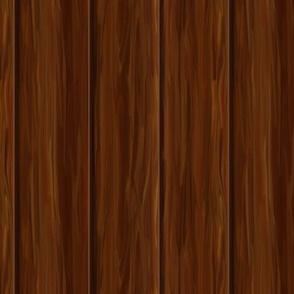 Mahogany Wood Paneling