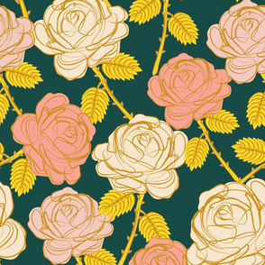 Roses- large scale