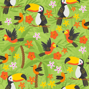 Jungle Party Birds