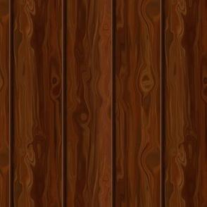 Knotty Mahogany Wood Paneling