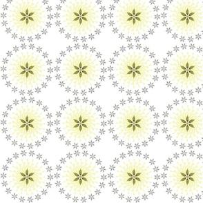 Flowers and sunshine - white