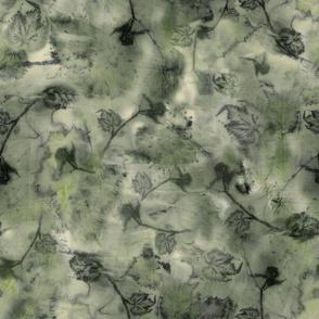 Memory of Grape Vines - Soft Green
