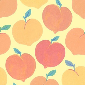 Painted Peaches