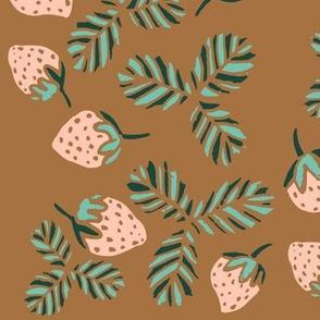 Summer Strawberries - Limited Color Pallet