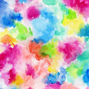 Watercolor Burst