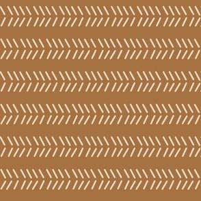 Mudcloth 3 -Bronze Inverted