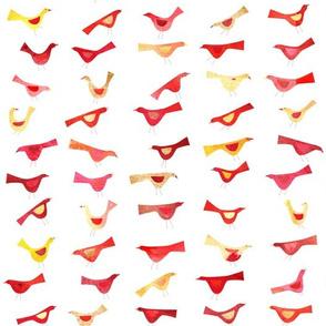 army of undisciplined birds