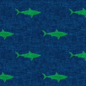 sharks (green on dark blue) - LAD19