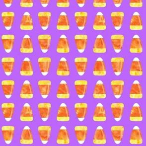candy corn - purple LAD19