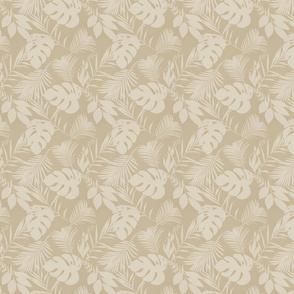 Tropical Leaf Coordinating Pattern