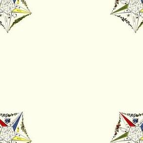 """Alt Large 2"""" Vintage Morris Eastern Star Symbol"""