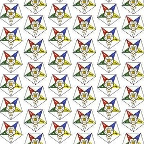 "Med. 1"" Grand Chapter Eastern Star Symbol"