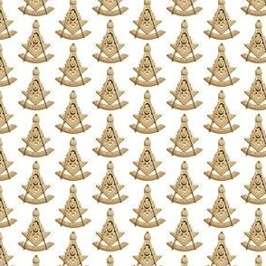 "Med. 1"" Past Worshipful Master Jewel Masonic Gold"