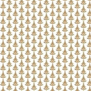 "Small 1/2"" Past Worshipful Master Jewel Masonic Gold"