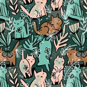 Cat meadow