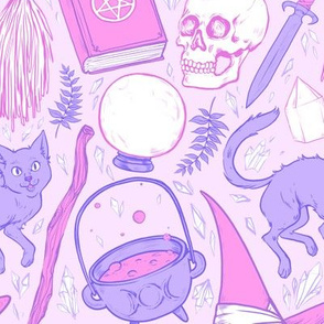 Witch Supplies in Pastel 2X