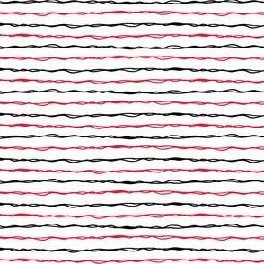 scarlet and black stripes C19BS