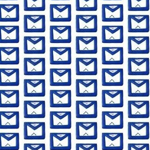 "Med. 1"" Blue Masonic Apron"