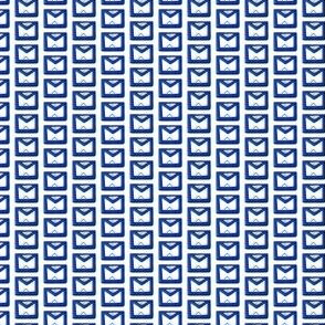 "Small 1/2"" Blue Masonic Apron"