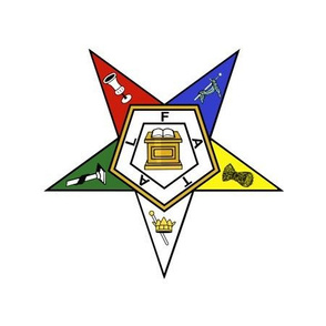 "6"" Eastern Star Standard Symbol"