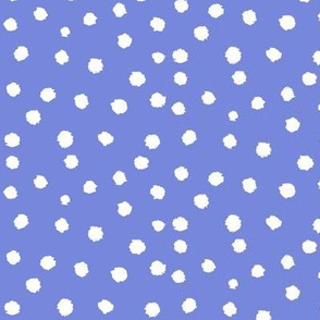 Painted Polka Dot //Periwinkle