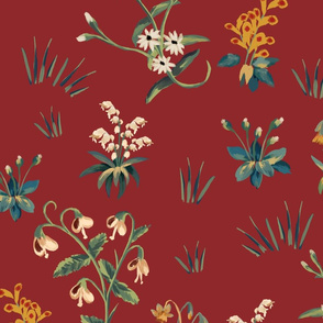 FloraPattern red
